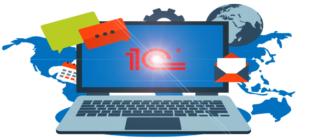 Логотип 1С Розница
