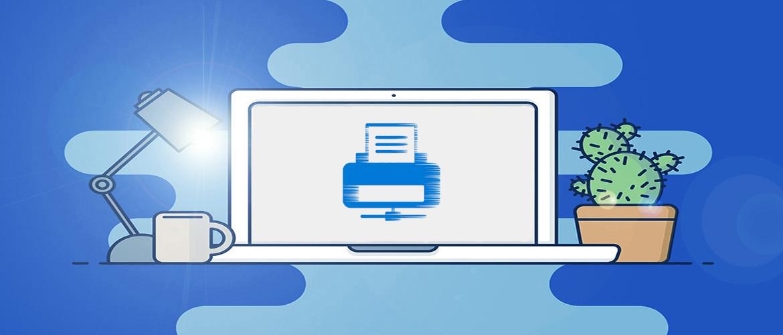 Как можно подключить принтер по локальной сети